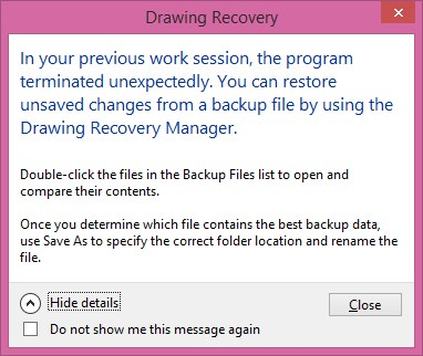 Drawing-Recovery